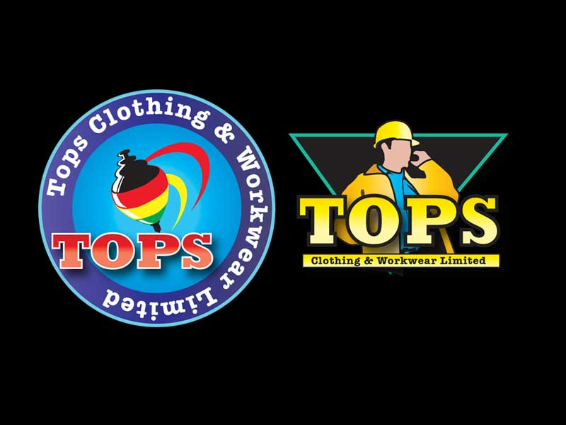 Logo Designs for Tops Clothing & Workwear Ltd